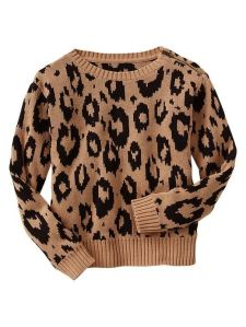 Animal Jacquard Sweater - GAP