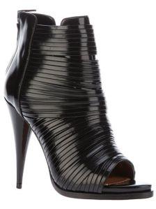 Bandage Peep Toe Boots - Givenchy