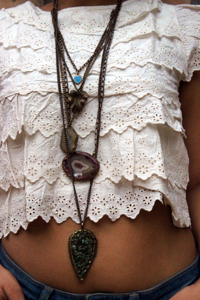 Layered Necklace - Superstar